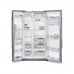 frigo side by side 2 depot electro. Black Bedroom Furniture Sets. Home Design Ideas