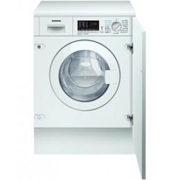 Lave-linge lavante-séchante intégrable Siemens