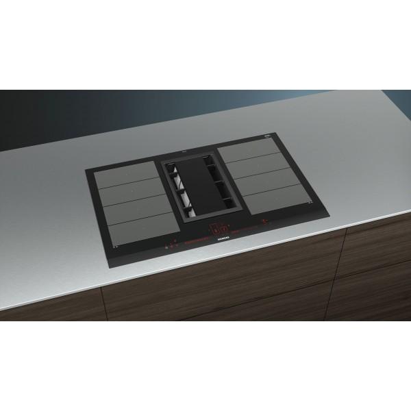table de cuisson inductionair siemens ex875lx34e. Black Bedroom Furniture Sets. Home Design Ideas
